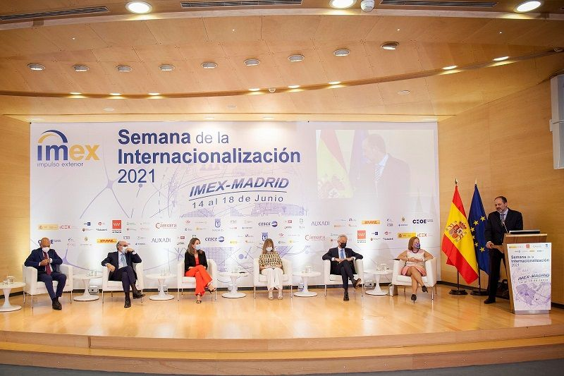 Inauguración de la semana de la Internacionalización de IMEX.